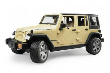 Брудер Джип Jeep Wrangler Unlimited Rubicon Bruder 02525 - фото
