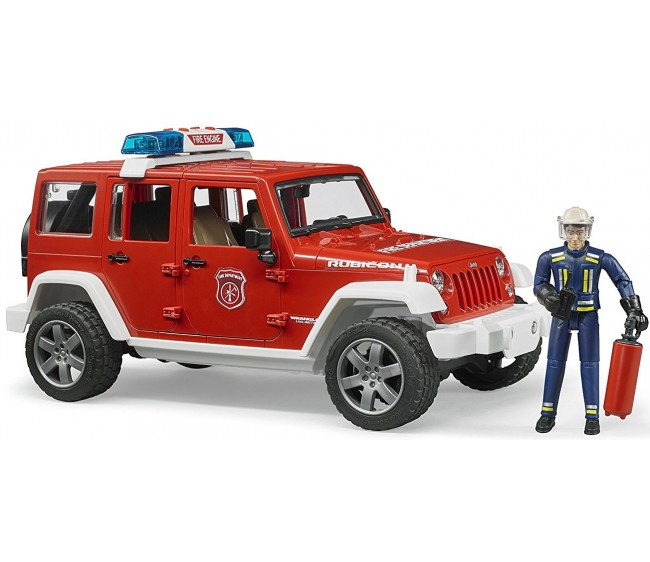 Брудер Джип Wrangler Unlimited Rubicon Bruder 02528